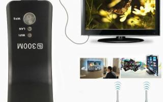Wi-Fi адаптер для телевизора