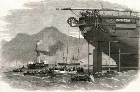 Прокладка телеграфных путей