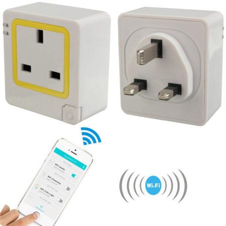 Wi-Fi контроль розетки