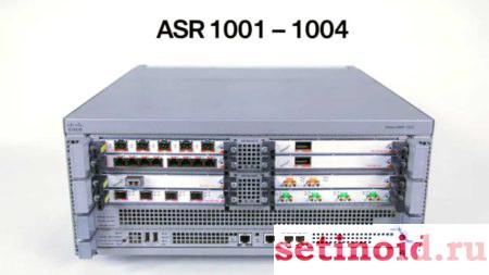 Роутер Cisco ASR