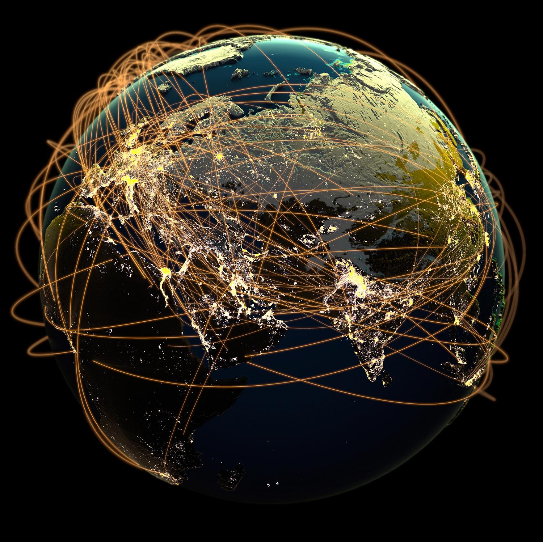 Глобальная сеть в картинках