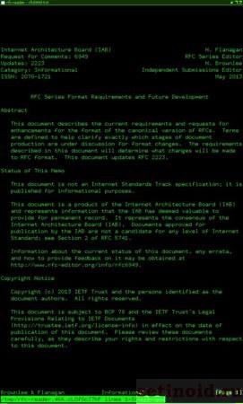 Документ RFC 1